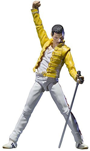 Image 1 for Queen - Freddie Mercury - S.H.Figuarts - Live at Wembley Stadium (Bandai)