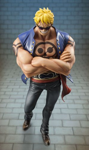 "Image 2 for One Piece - Bellamy the Hyena - Excellent Model - Portrait Of Pirates ""Sailing Again"" - 1/8 (MegaHouse)"