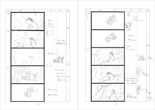 Image 2 for The Tale Of The Princess Kaguya Storyboard Artbook