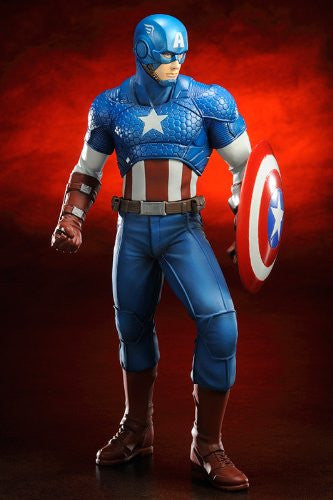 Image 4 for The Avengers - Captain America - ARTFX+ - Marvel The Avengers ARTFX+ - 1/10 (Kotobukiya)