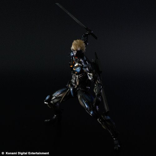 Image 9 for Metal Gear Rising: Revengeance - Raiden - Play Arts Kai - Black Armour ver. (Square Enix)
