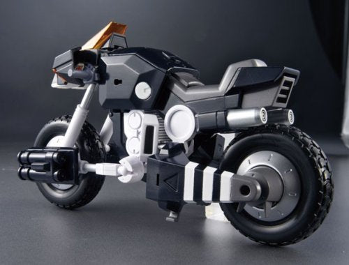 Image 4 for Kikou Souseki Mospeada - Ride Armor Dark Bartley Shinobu Type - Variable Action - Dark Mospeada - 1/15 (MegaHouse)