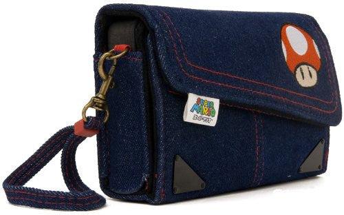 Image 3 for Denim Case for 3DS (Toadstool Edition)