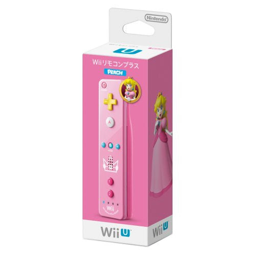 Image 1 for Wii Remote Control Plus (Peach)