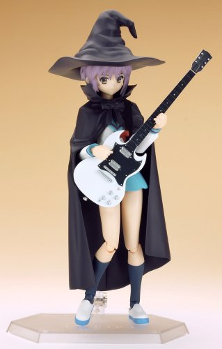 Image 2 for Suzumiya Haruhi no Yuuutsu - Nagato Yuki - Figma #015 - Evil Witch, School Uniform (Max Factory)