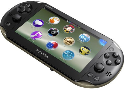 Image 3 for PlayStation Vita Wi-fi Model Khaki Black (PCH-2000)