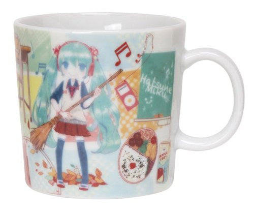 Image 1 for Vocaloid - Hatsune Miku - Mug - Miku in School (Sekiguchi)