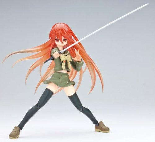 Image 4 for Shakugan no Shana - Shana - Figma #025 - Flame Hair ver. Enpatsu (Max Factory)