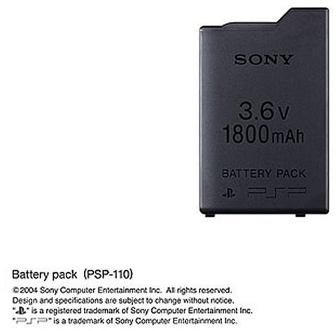 PSP PlayStation Portable Battery Pack