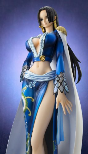 Image 8 for One Piece - Boa Hancock - Excellent Model - Portrait Of Pirates EX - 1/8 - Blue ver. (MegaHouse)