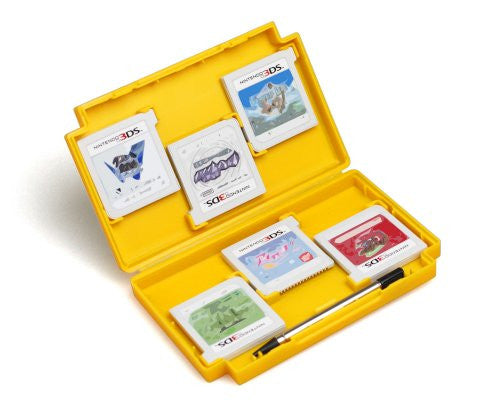 Image 4 for Retro Game Card Case for 3DS (Yellow)