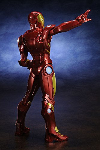 Image 3 for The Avengers - Iron Man - ARTFX+ - Marvel The Avengers ARTFX+ - 1/10 - Red x Gold (Kotobukiya)