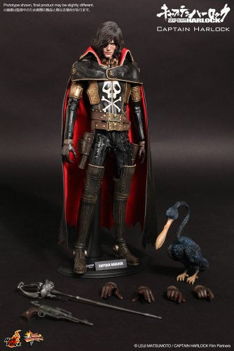 Image 7 for Space Pirate Captain Harlock - Captain Harlock - Torisan - Movie Masterpiece MMS222 - 1/6 (Hot Toys)
