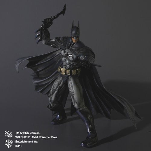 Image 5 for Batman: Arkham Asylum - Batman - Play Arts Kai (Square Enix)