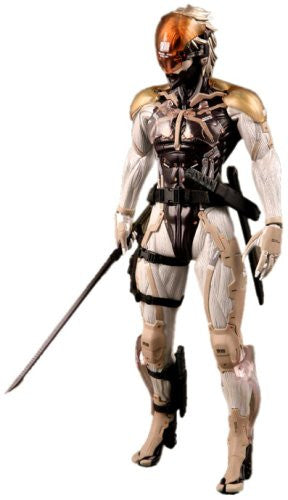 Image 1 for Metal Gear Solid 4: Guns of the Patriots - Raiden - Real Action Heroes #360 - 1/6 (Medicom Toy)