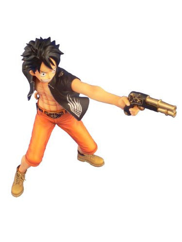 Image 4 for One Piece - Monkey D. Luffy - Door Painting Collection Figure - 1/7 - The Three Musketeers Ver. (Plex)
