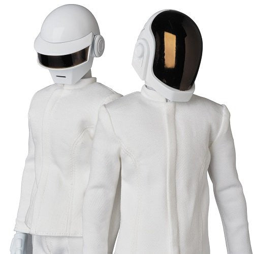 Image 4 for Daft Punk - Guy-Manuel de Homem-Christo - Real Action Heroes No.734 - 1/6 - White Suit Ver. (Medicom Toy)