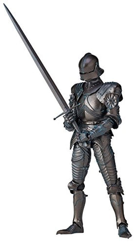 KT Project KT-020 - Revoltech - 15th Century Gothic Style Field Armor - Bronze (Kaiyodo)