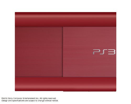 Image 2 for PlayStation3 New Slim Console (250GB Garnet Red Model) - 110V