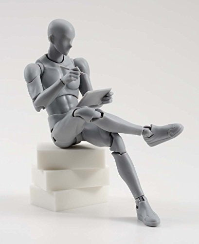 Image 7 for S.H.Figuarts - Body-kun - DX Set, Gray Color Ver. (Bandai)