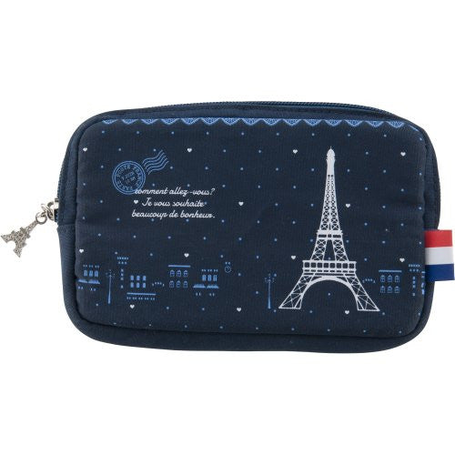 Image 1 for Design Pouch for 3DS LL (Eiffel Tower)