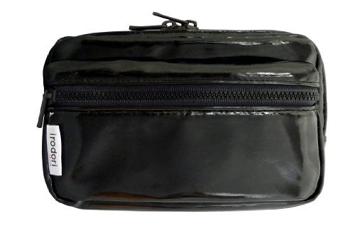 Image 1 for Enamel Pouch for 3DS LL (Strong Black)