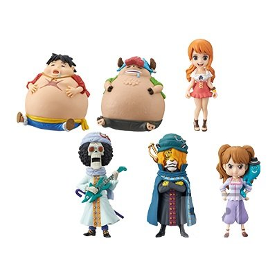 One Piece  - One Piece World Collectable Figure -Whole Cake Island 1- - World Collectable Figure - Set