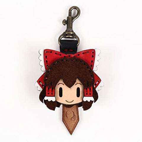 Image for Touhou Project - Hakurei Reimu - Hand Made Leather Key Cap