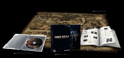 Image for DARK SOULS with ARTORIAS OF THE ABYSS EDITION - THE COMPLETE GUIDE Prologue + DARK SOULS Special Map + Original Soundtrack