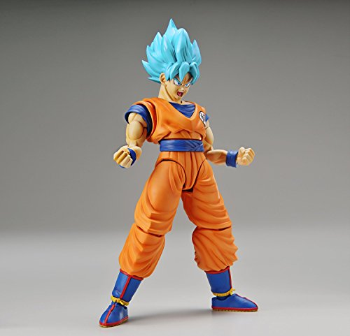 Dragon Ball Super - Son Goku SSJ God SS - Figure-rise Standard (Bandai)
