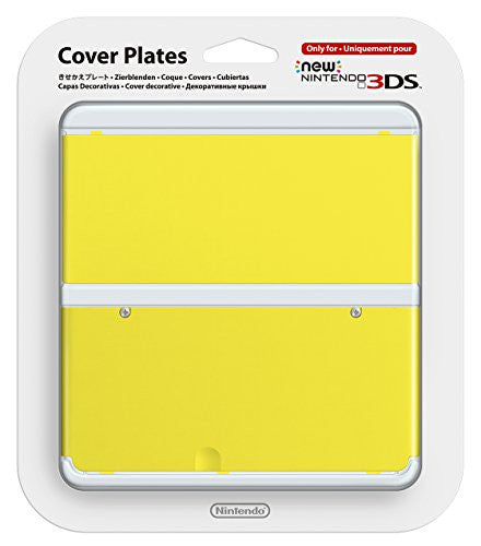 Image 1 for New Nintendo 3DS Cover Plates No.009 (Yellow)