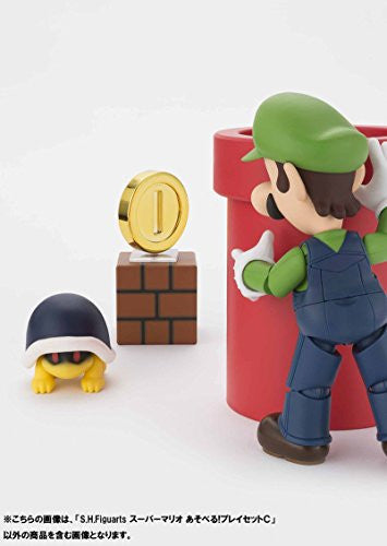 Image 9 for Super Mario Brothers - Met - Pakkun Flower - S.H.Figuarts - S.H.Figuarts Playset - Diorama Play Set C - C (Bandai)