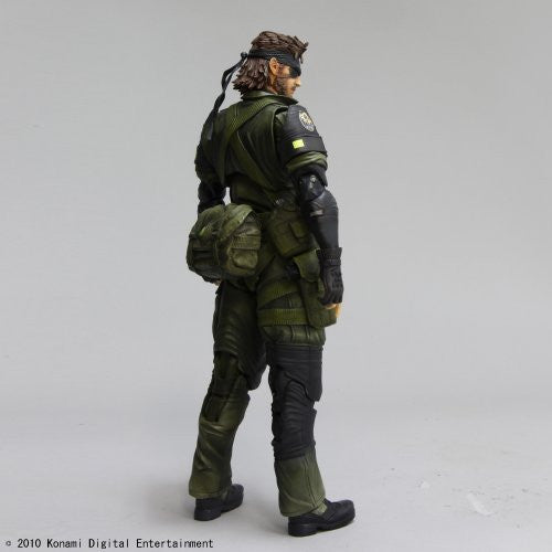 Image 4 for Metal Gear Solid Peace Walker - Naked Snake - Play Arts Kai - Jungle Fatigues (Square Enix)