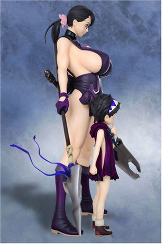 Image 6 for Queen's Blade - Cattleya - Rana - R-Line - 1/7 - Blue Violet ver. (Griffon Enterprises)