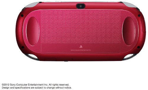 Image 2 for PSVita PlayStation Vita - 3G/Wi-Fi Model (Cosmic Red) (PCH-1100 AB03)