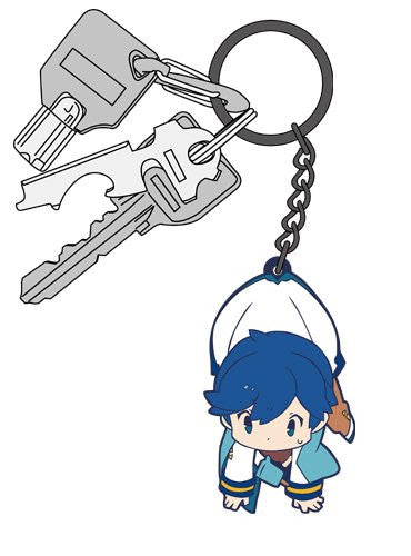 Image 3 for Vocaloid - Kaito - Tsumamare - Rubber Keychain - Keyholder (Cospa)