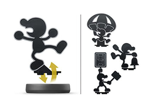 Image for Dairantou Smash Bros. for Nintendo 3DS - Dairantou Smash Bros. for Wii U - Mr. Game & Watch - Amiibo - Amiibo Dairantou Smash Bros. Series (Nintendo)