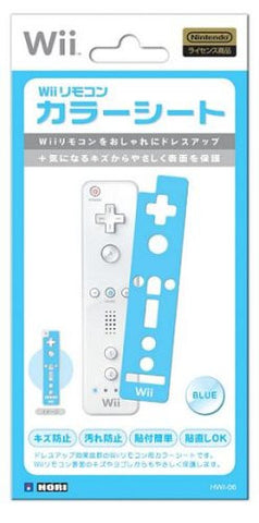 Image for Wii Remote Controller Sheet (blue)