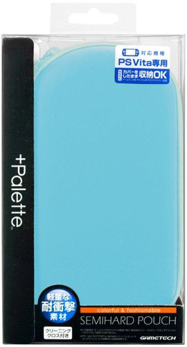 Image 1 for +Palette Semi Hard Pouch for PS Vita (Sky Blue)