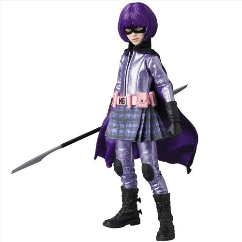 Image 1 for Kick-Ass - Hit-Girl - Real Action Heroes #677 - 1/6 (Medicom Toy)
