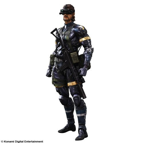 Image 2 for Metal Gear Solid V: Ground Zeroes - Naked Snake - Play Arts Kai (Square Enix)