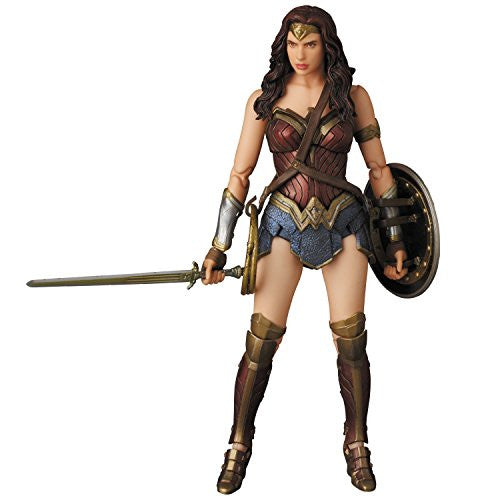 Image 8 for Batman v Superman: Dawn of Justice - Wonder Woman - Mafex No.024 (Medicom Toy)