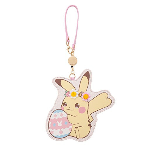 Image 1 for Pocket Monsters - Pokemon - Pikachu - Pikachu's Easter - Pass Case - Pokemon Center Limited