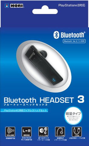 Image for Hori Bluetooth Headset 3 (PS3 and PS Vita)