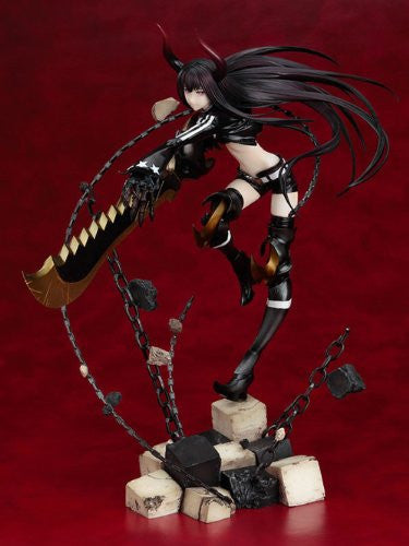 Image 2 for Black ★ Rock Shooter - Black ★ Gold Saw - 1/8 - Anime Ver. (Good Smile Company)