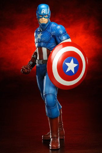Image 2 for The Avengers - Captain America - ARTFX+ - Marvel The Avengers ARTFX+ - 1/10 (Kotobukiya)