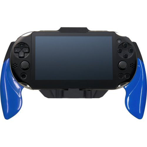 Image 7 for Rubber Coat Grip for PlayStation Vita Slim (Blue)