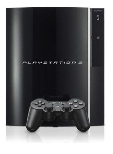 Image 1 for PlayStation3 Console (HDD 40GB Model) Clear Black - 110V