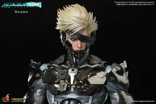 Image 6 for Metal Gear Rising: Revengeance - Raiden - VideoGame Masterpiece VGM17 - 1/6 (Hot Toys)
