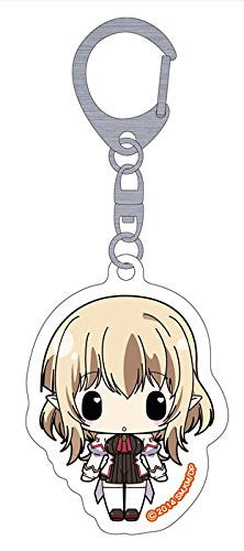 Image 1 for Seikoku no Dragonar - Lucca Saarinen - Clear Keychain - Keyholder (Penguin Parade)